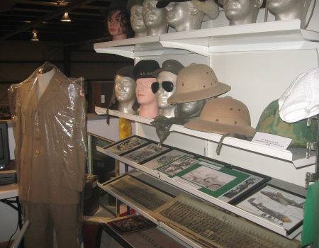 WWII Army Uniforms Helmets and Hats