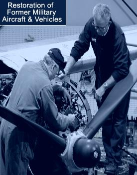 Historical Aircraft Squadron Restoration of A-26